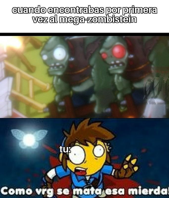El mega-zombistein - meme