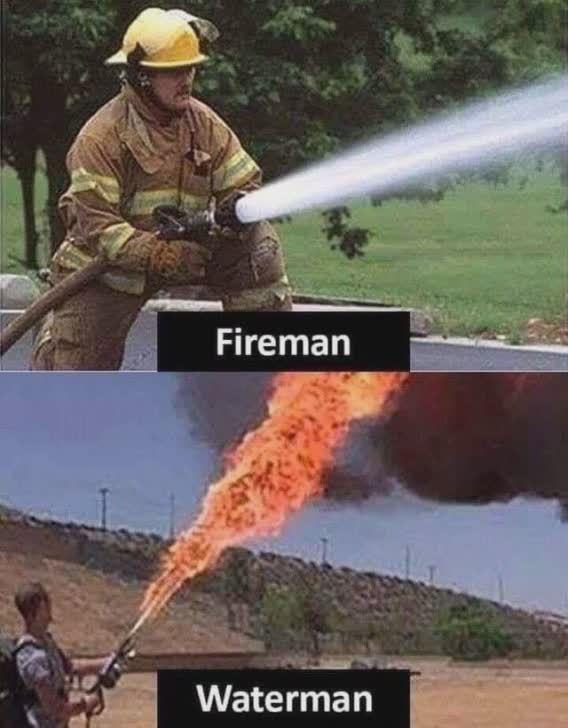 fireman/waterman common enemies - meme