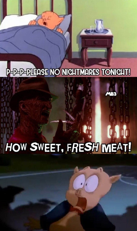 Porky's Nightmare - meme