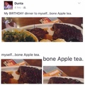 does your ass taste like apple tea?