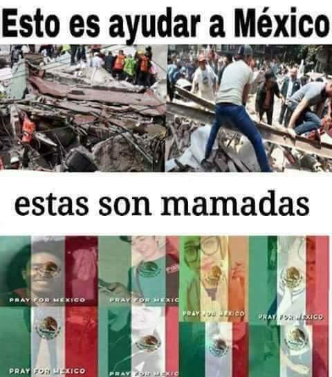 Fuerza México, no será mucho pero si se soluciona! Latinos y Españoles, necesitamos su ayuda! - meme