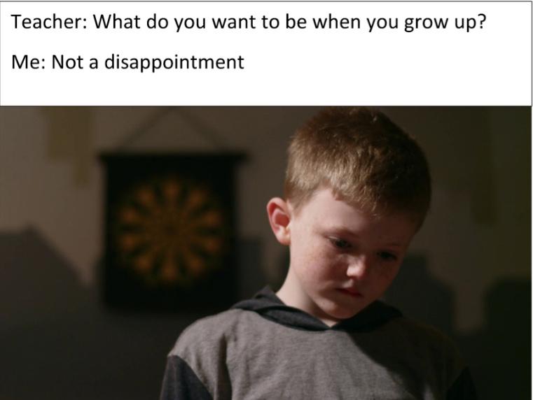 life is hard - meme