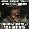 Red Dead Redemption Logic