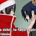 Itachi siempre tan navideño