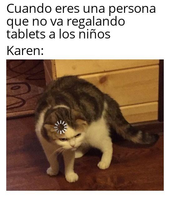 Malditas karens >:( - meme