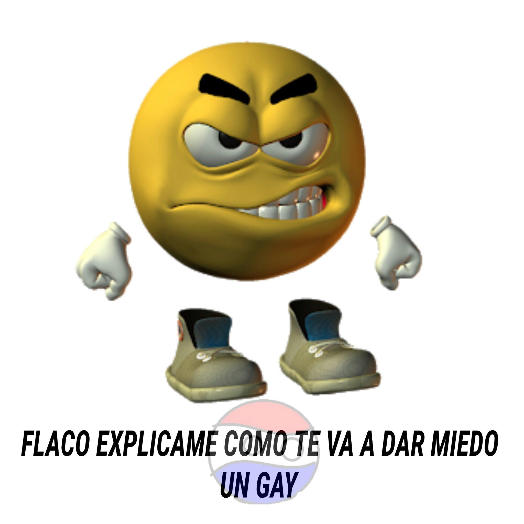 Como te va a dar miedo un gay - meme