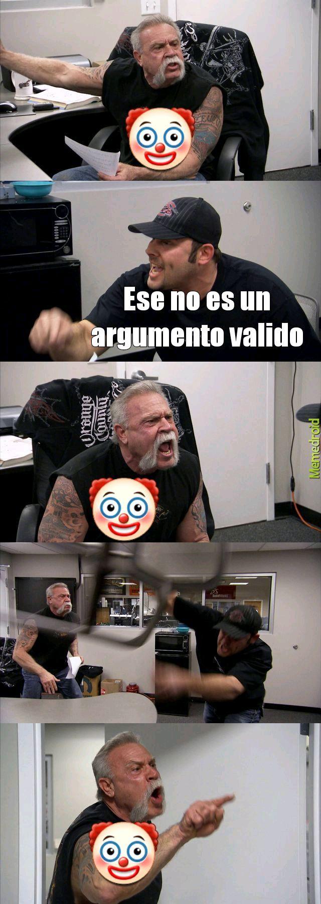 No lo es - meme