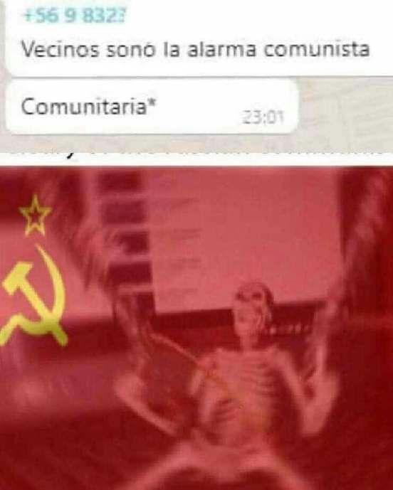 Alarma comunista :Panik: - meme