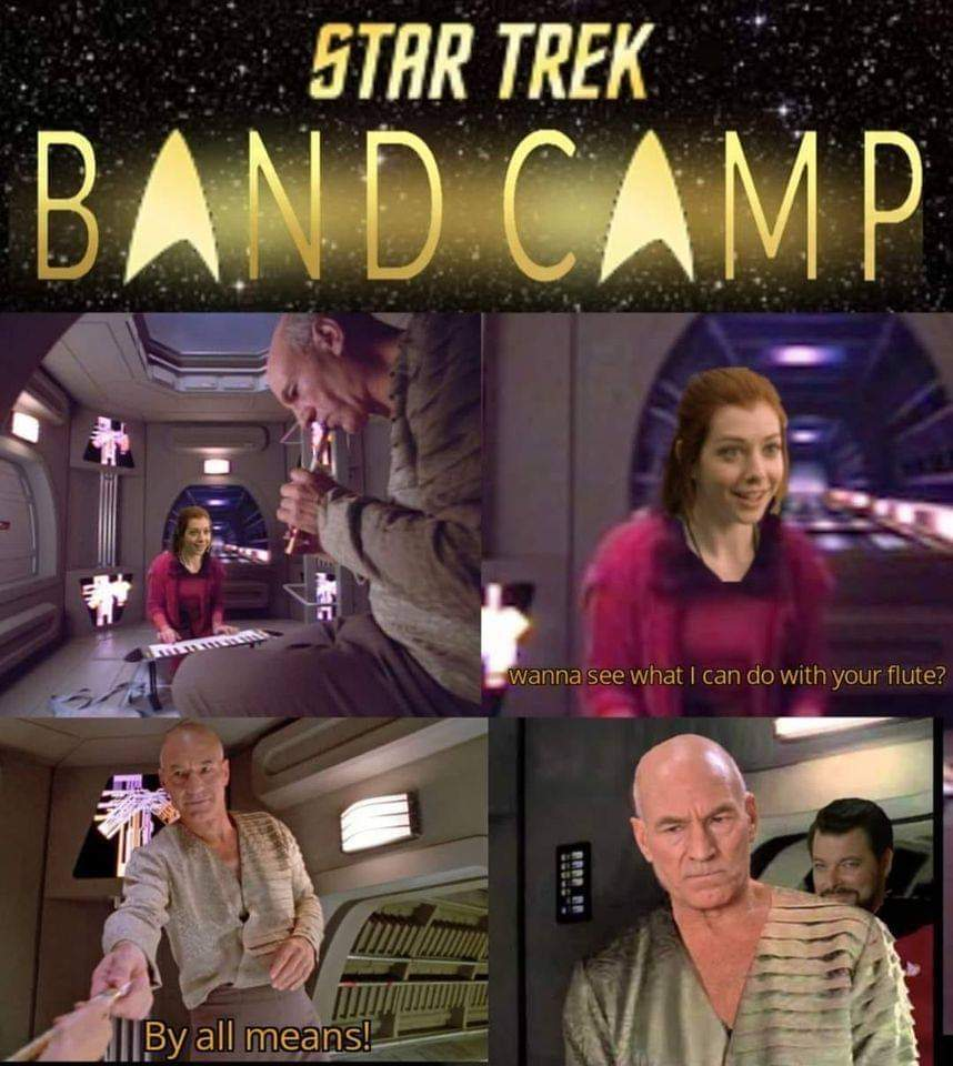 This one time, at Space Band Camp... - meme
