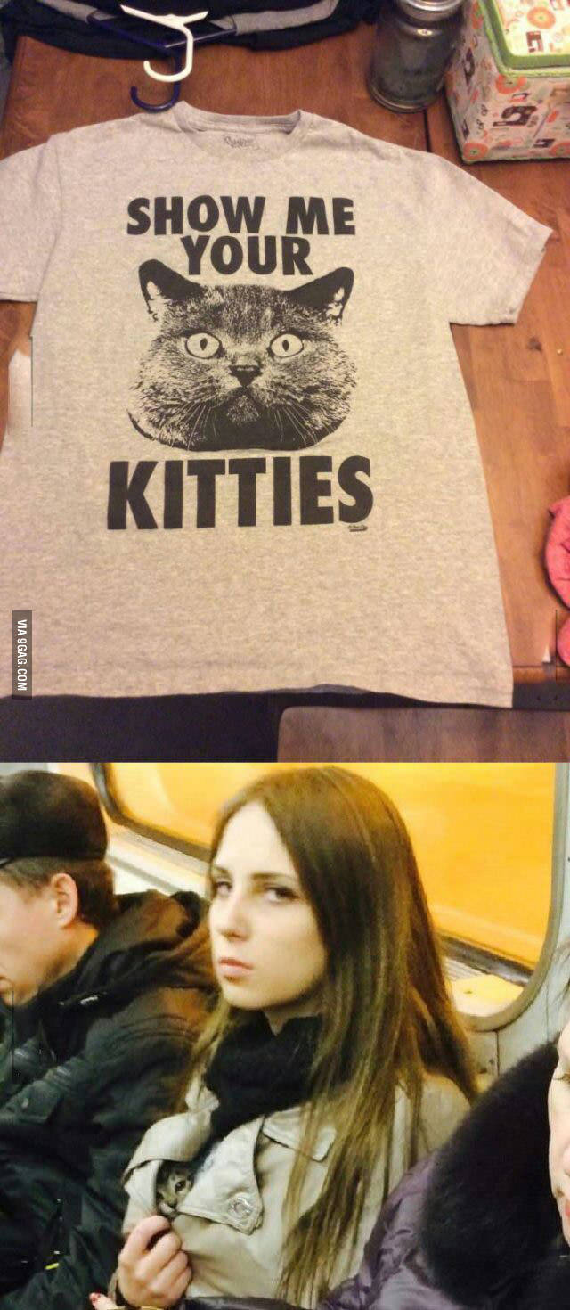 Her kitties tho. - meme