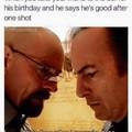 Me when my friend finally turns 21