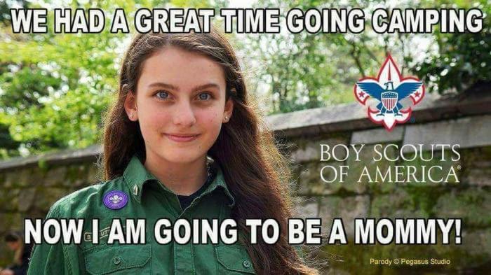 Boy 'girl' scout.. . - meme