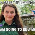 Boy 'girl' scout.. .