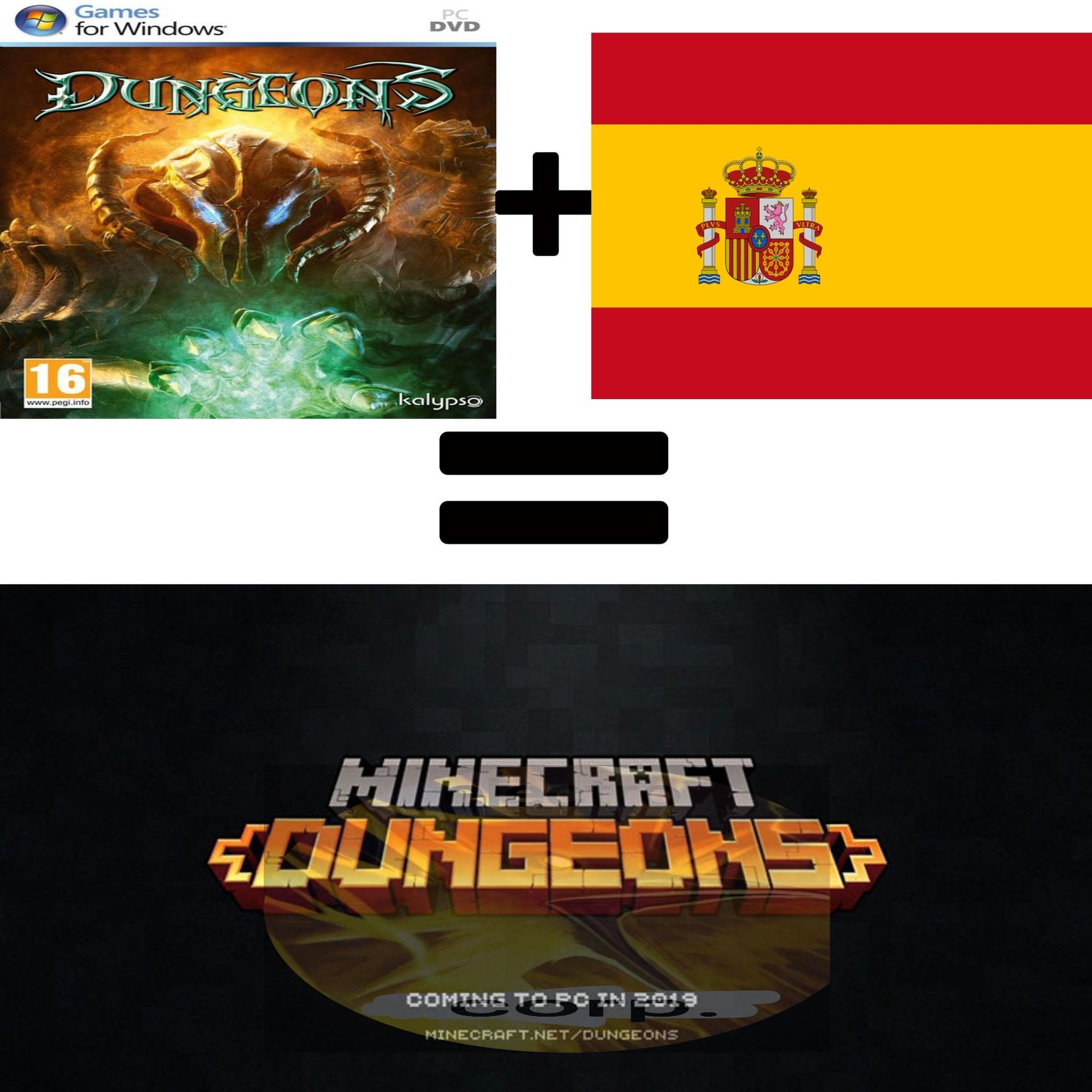 Quien dice que minecraft está muerto - meme