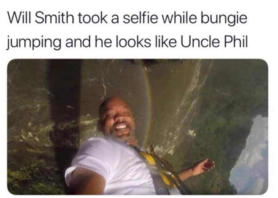 plot twist, uncle phil is actually his dad - meme