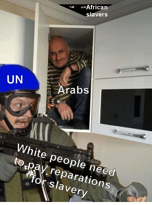 We're already poorer than blacks - meme