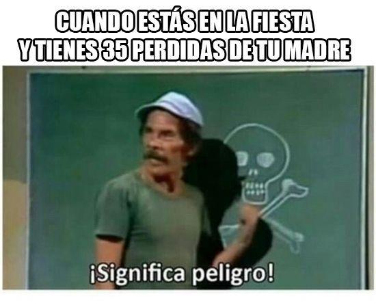Peligro!!! - meme