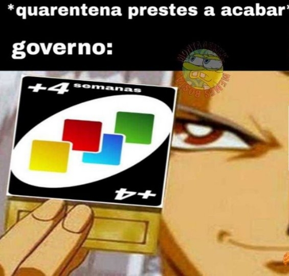 Quarentena infinita - meme