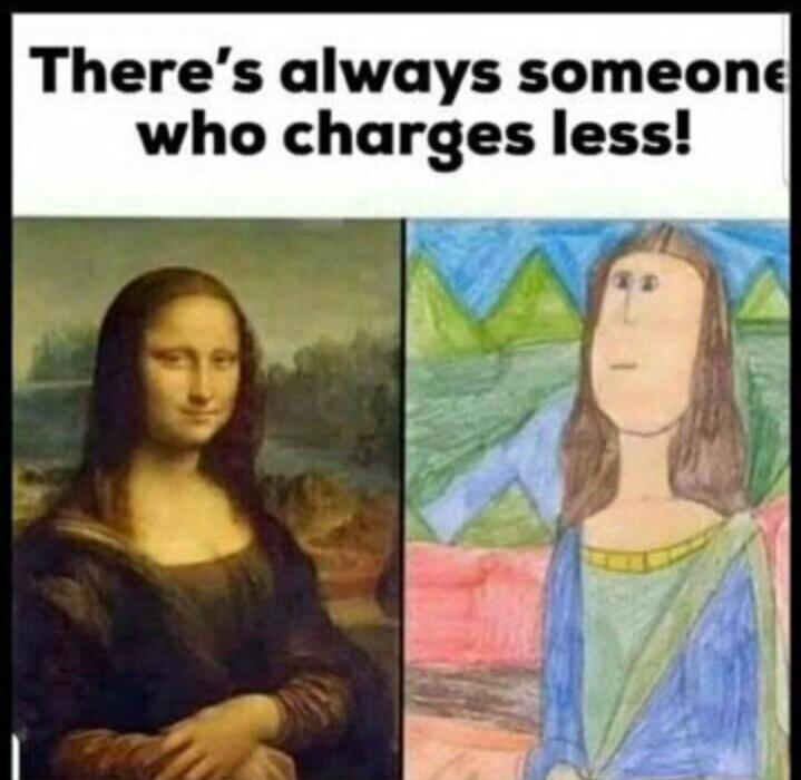 Monalisa is sexy - meme