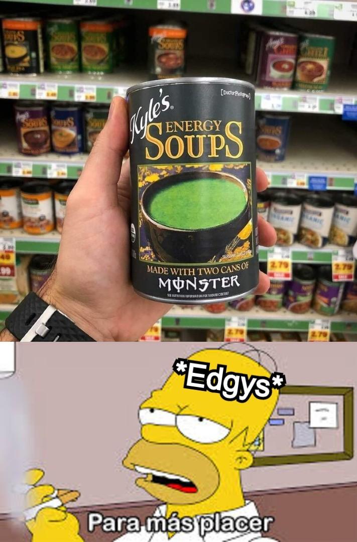 Le' Edgy Soupé' - meme