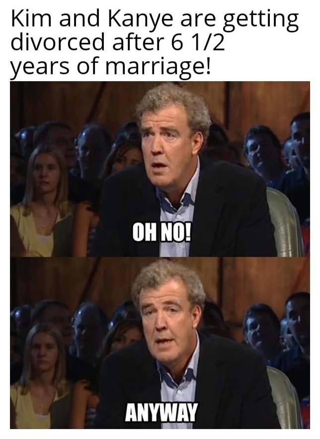 Both trash celebs - meme
