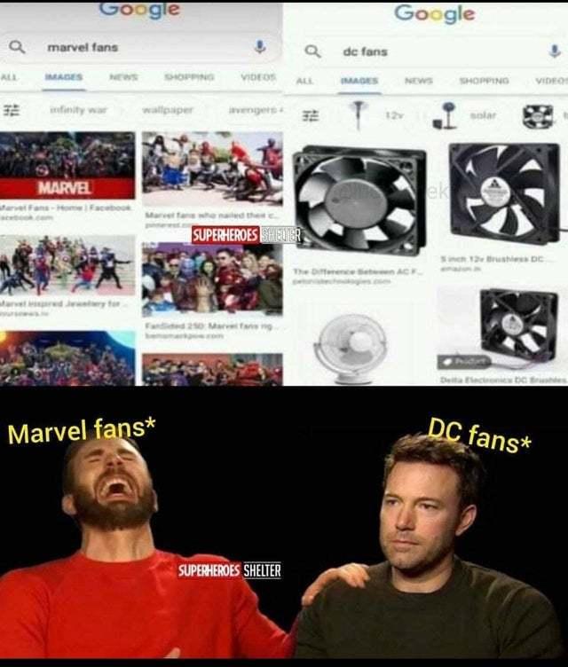 DC fans - meme