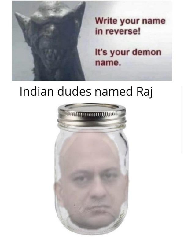 Demon name lol - meme