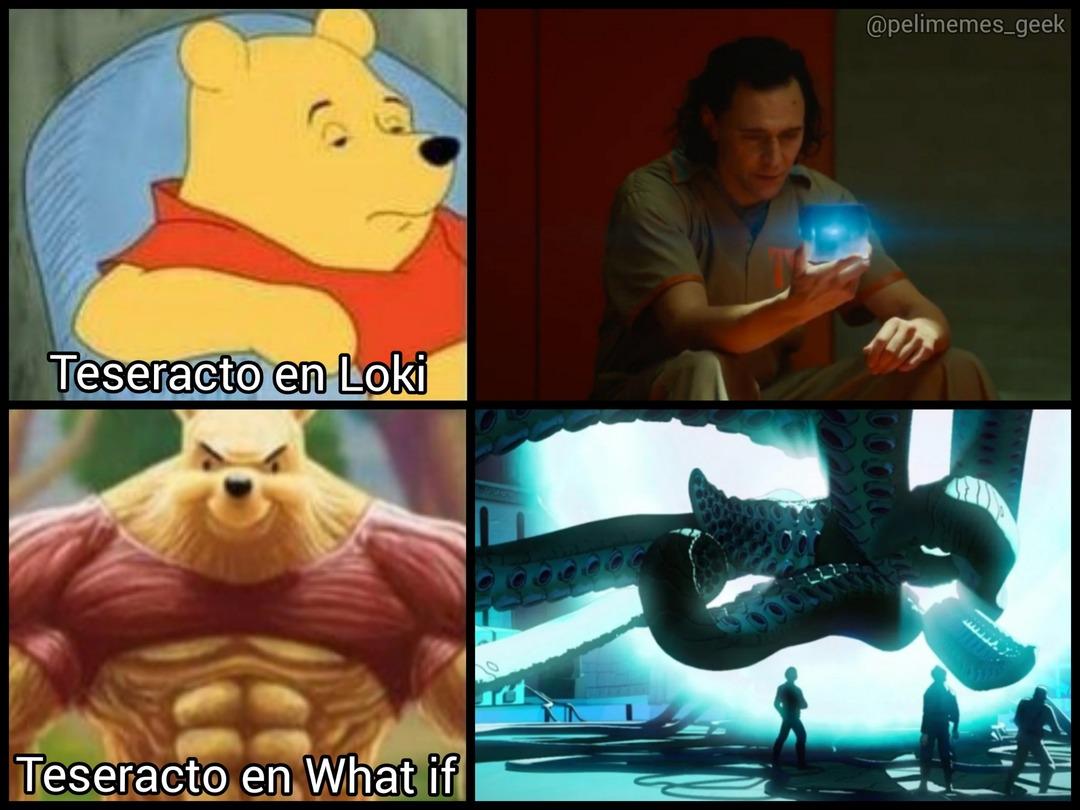 Teseracto Marvel - meme
