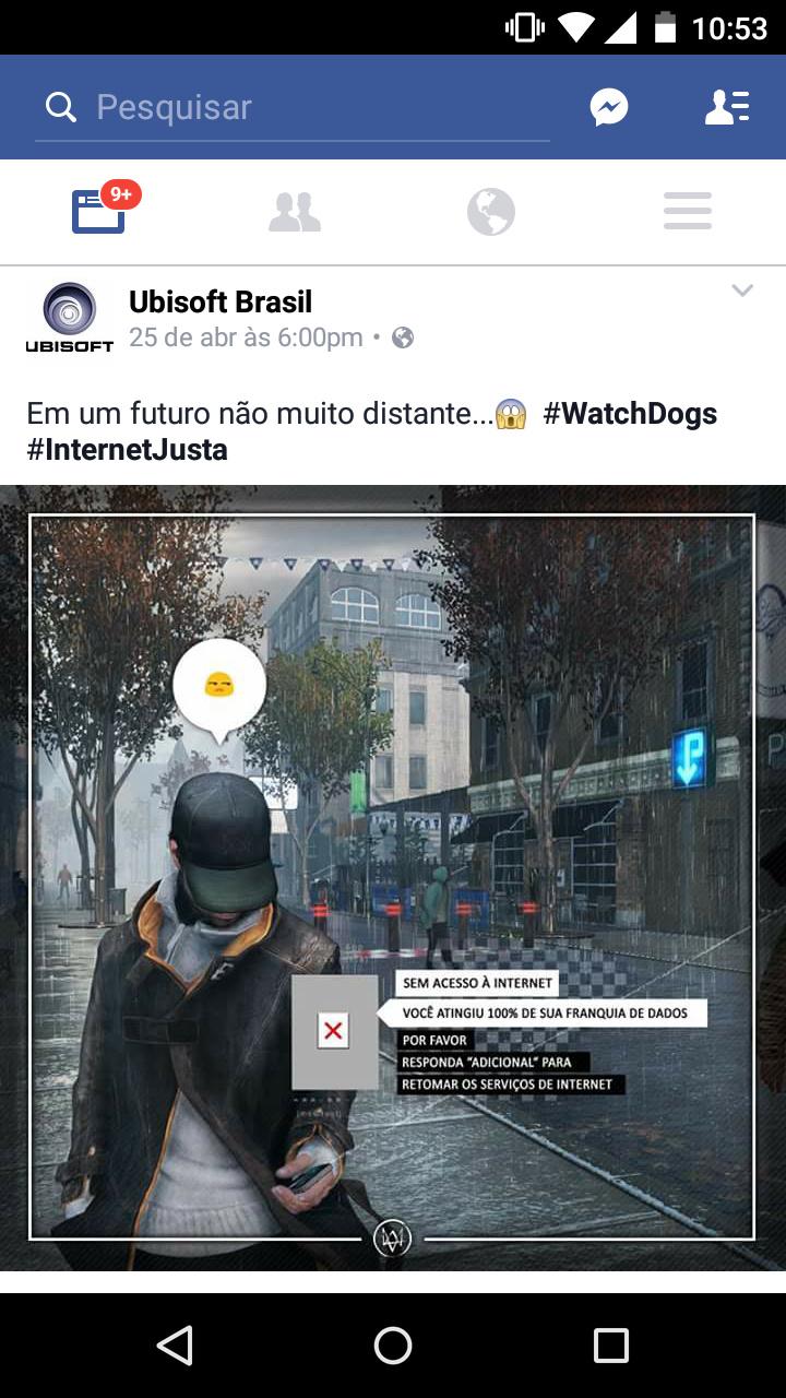 #internetjusta - meme