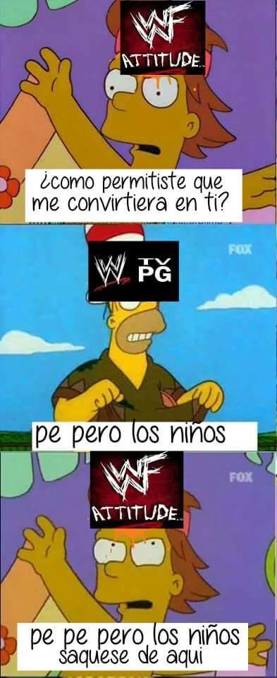 EXTRAÑO WWF - meme