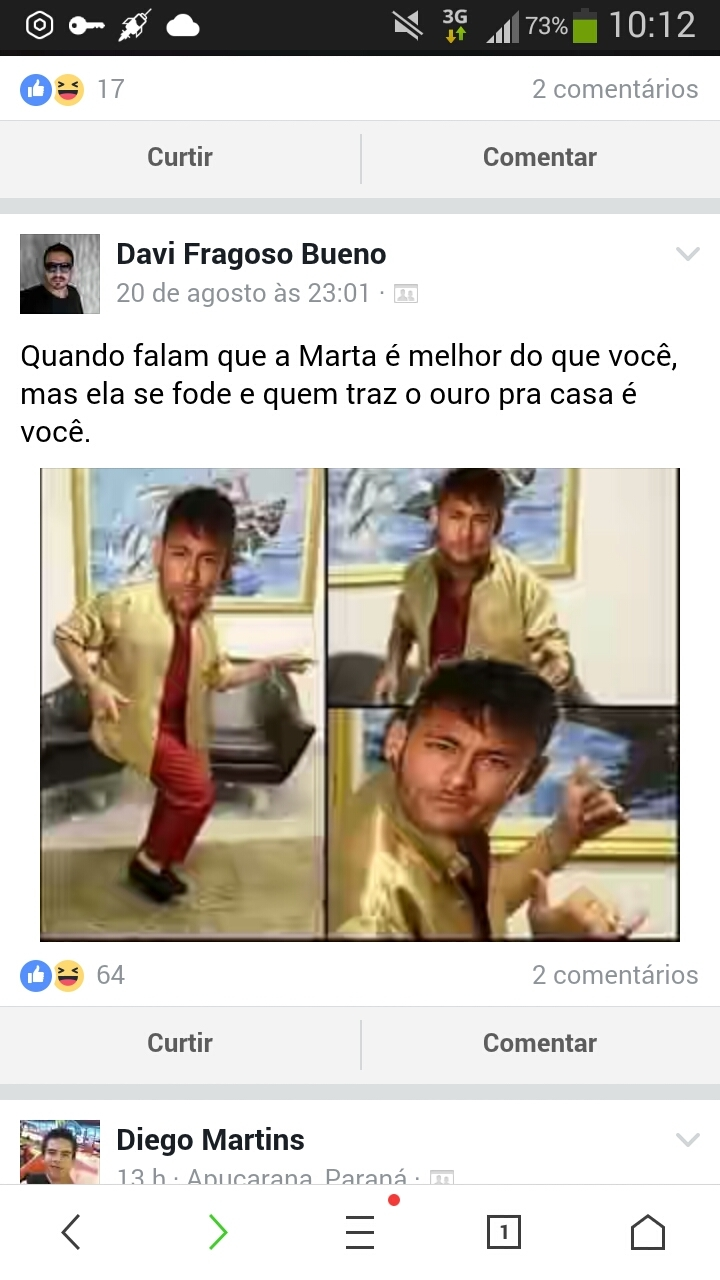 Shuashuashua... É ôro Brasil - meme