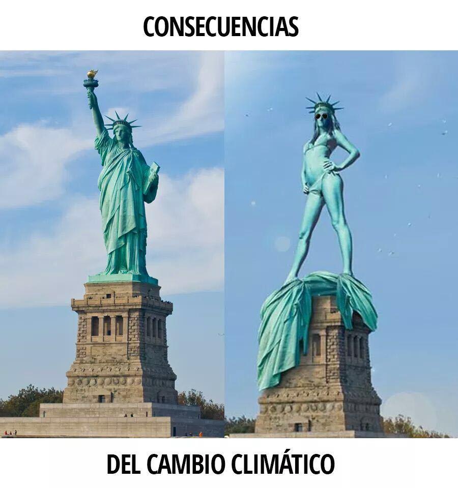 El cambio climatico es todo un loquillo - meme