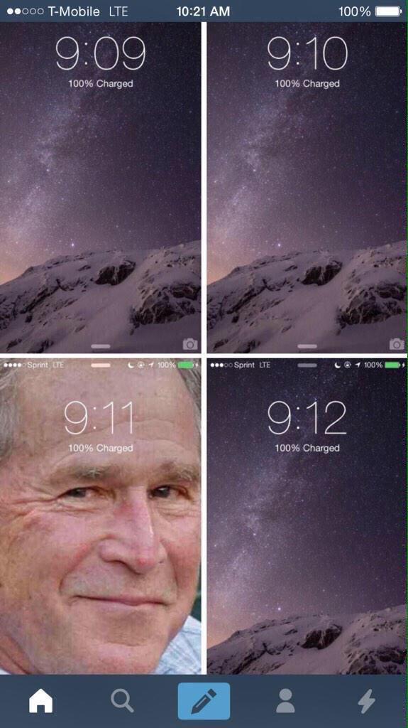 Feliz aniversario del 11-S :D - meme