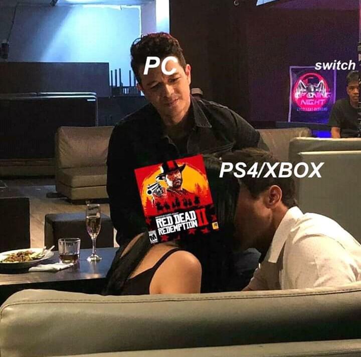 Todos esos fps y 6k para no tener el videojuego con mas de 720 millones de dolares en recaudacion en su primer semana - meme