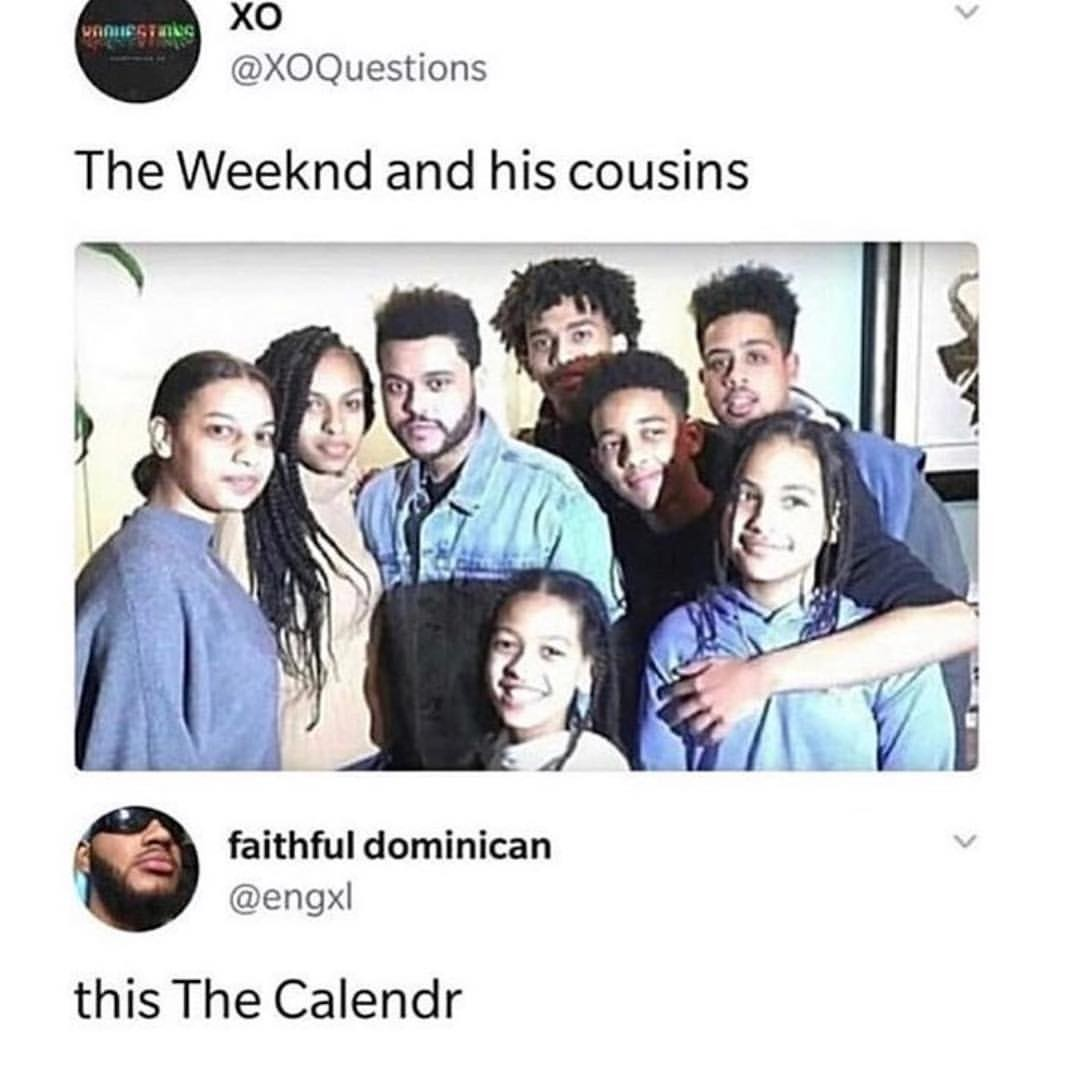 The Calendr  - meme