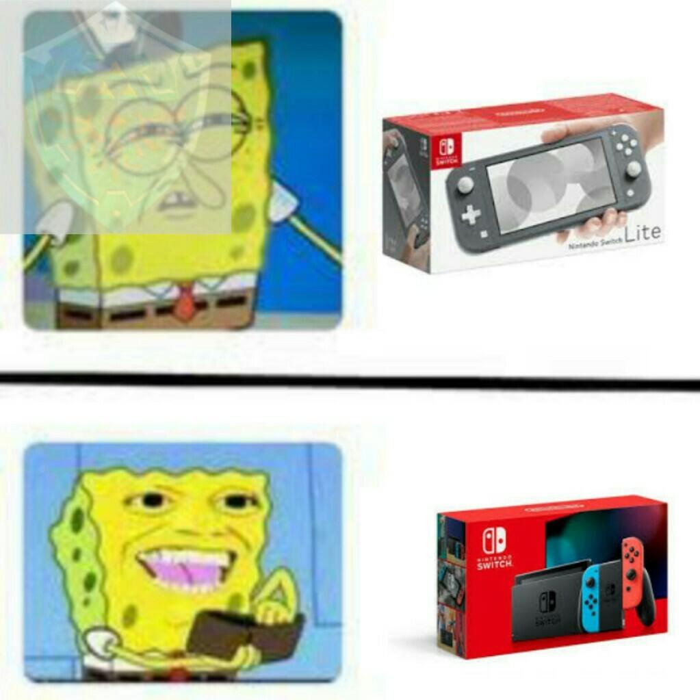 La reedición de nintendo switch - meme
