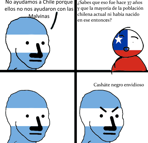 """Si desordenas """"argentino"""" puedes leer """"ignorante"""" - meme"""