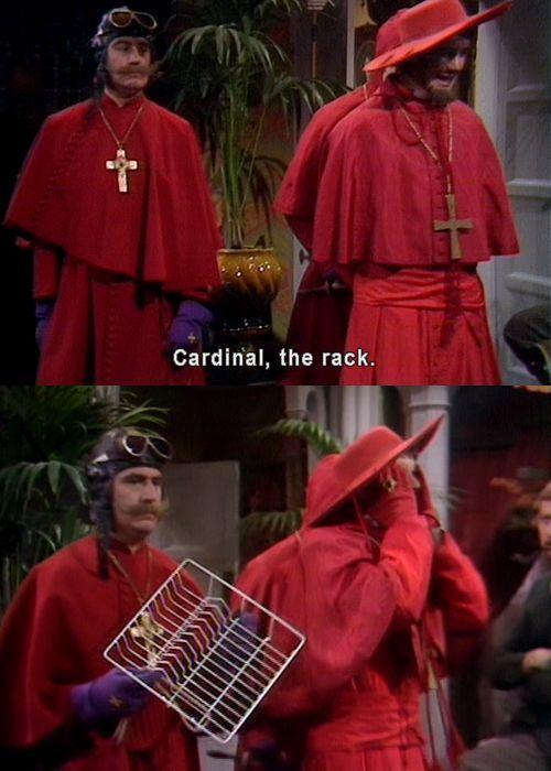 She's got a nice cardinal rack IYKWIM - meme