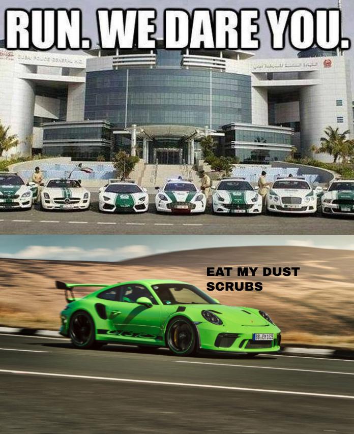 Porsche 911 gt3 RS - meme