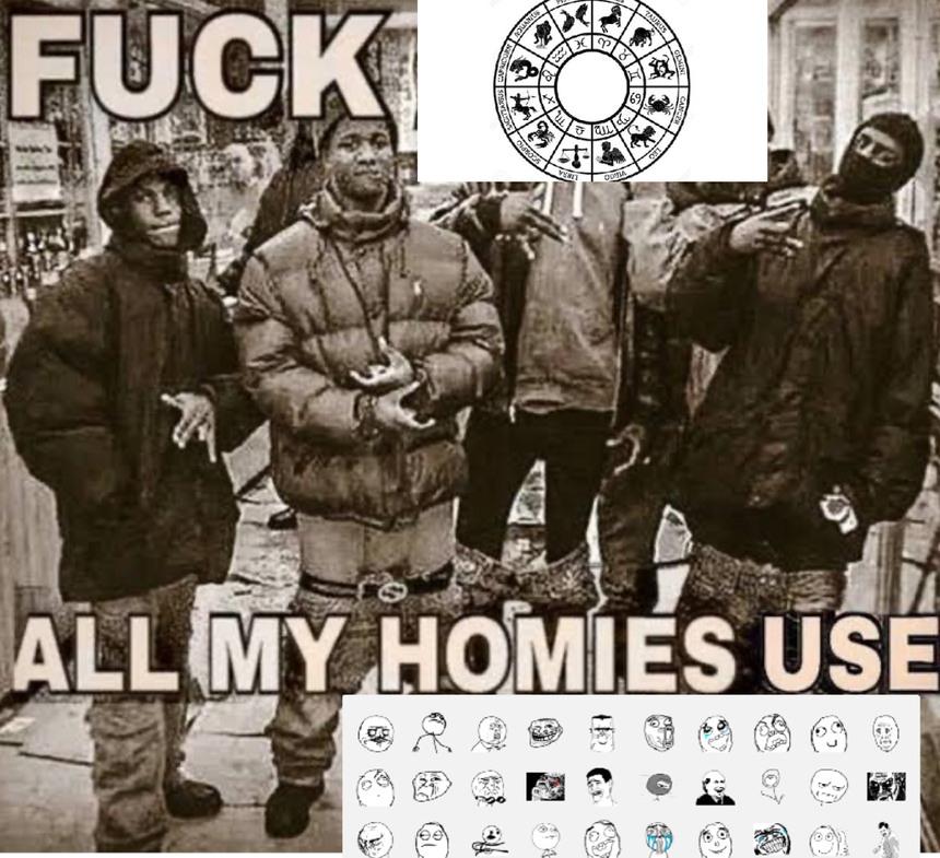 Fuck signos zodiacales - meme