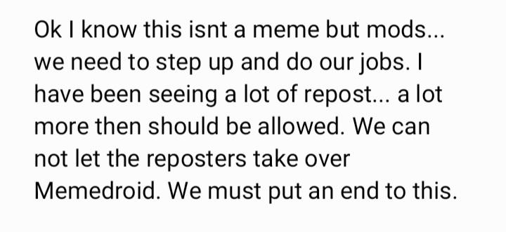 Please let this pass moderation - meme