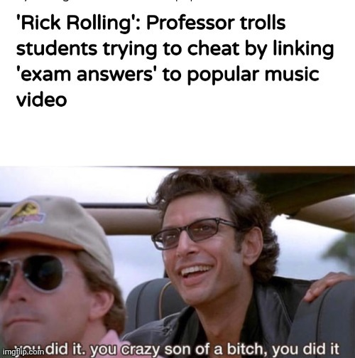 Rolled by the Ricker - meme