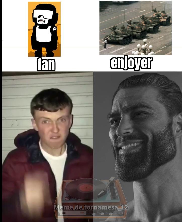Hombre del tanque - meme