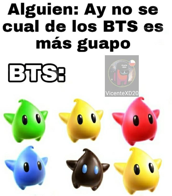BTS Son iguales - meme