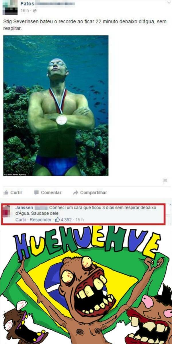 O recorde mundial ainda é desconhecido ! - meme