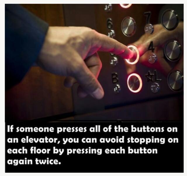 Avoid Elevator Pranksters - meme