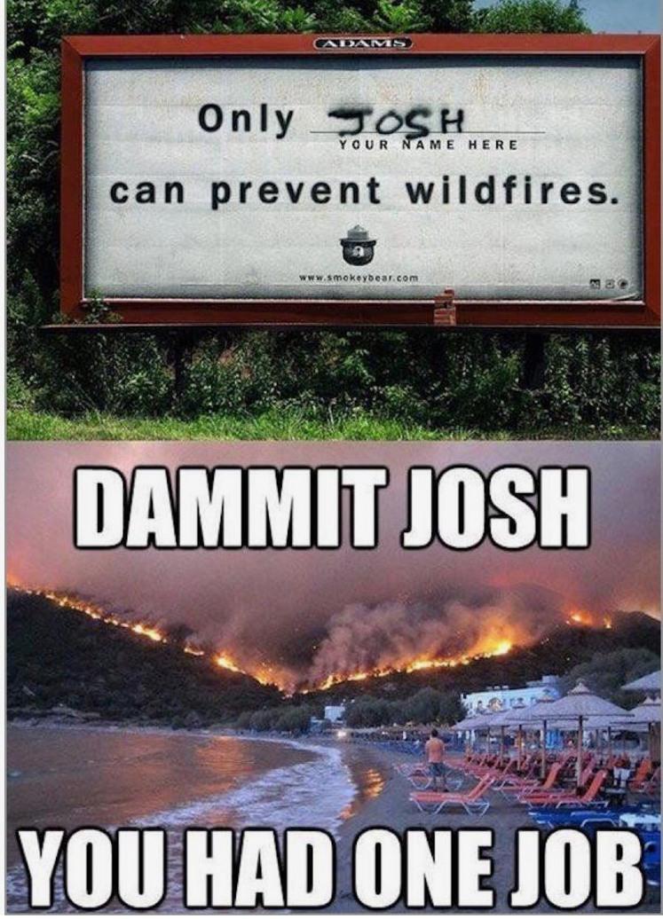 fucking josh - meme