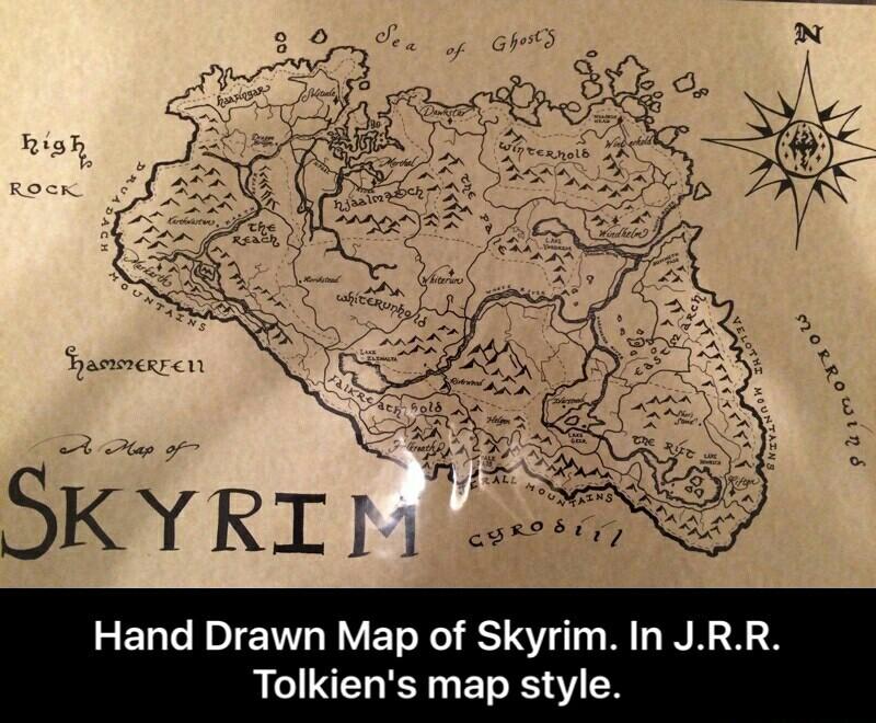 Skyrim belongs to the Nords! - meme