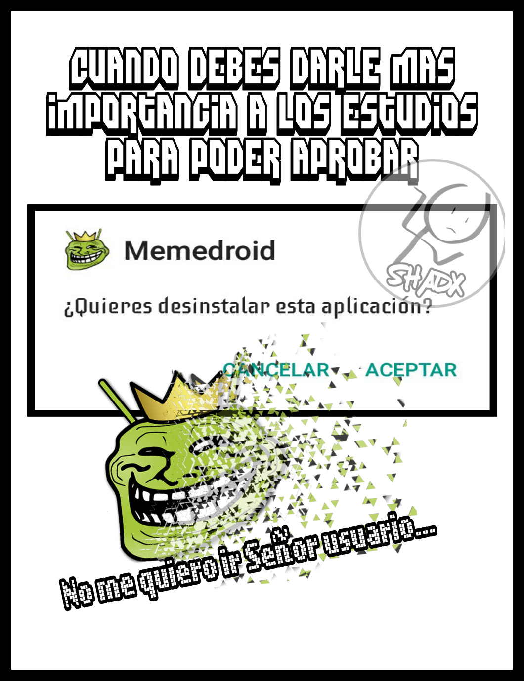 Sin Ideas... - meme