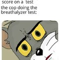 Finally the highest possible score on a test